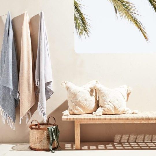 serviettes et draps de plage